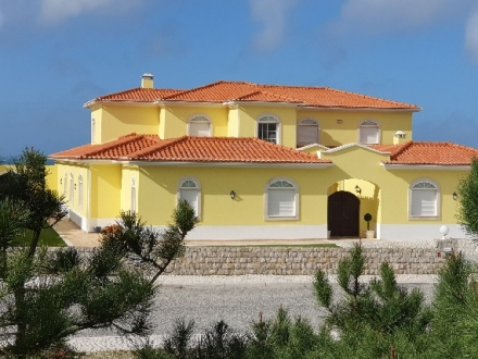 Beautiful villa with direct sea and golf views